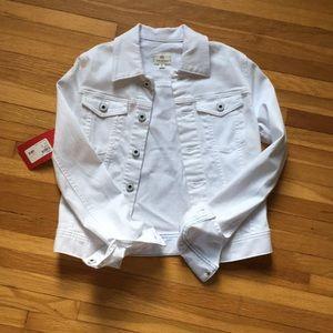 AG White Denim Jacket